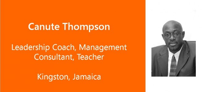 Canute Thompson, Leadership Coach, Management Consultant, Teacher - Jamaica