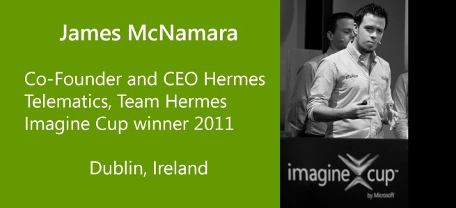 James McNamara, Team Hermes Imagine Cup Winner 2011 - Ireland