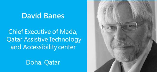 David Banes, Chief Executive of Mada, Qatar