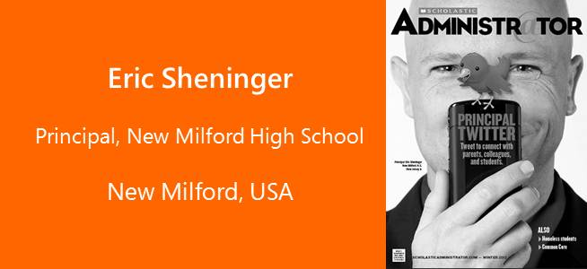 Eric Sheninger, Principal New Milford High School - USA