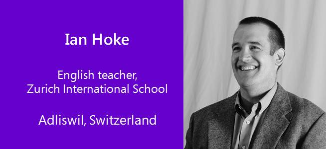 Ian Hoke, English teacher - USA