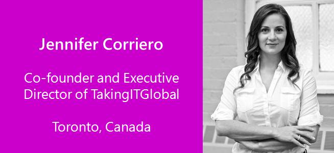 Jennifer Corriero, IT Global, Canada