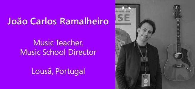 Joao Carlos Ramalheiro, Music Teacher, Music School Director - Portugal