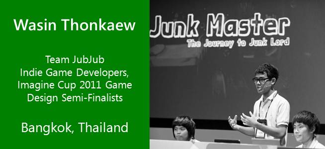 Team JubJub, Imagine Cup - Thailand