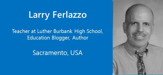Larry Ferlazzo, Teacher, Education Blogger, Author - USA