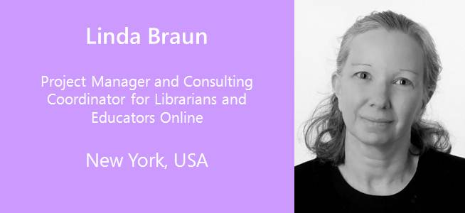 Linda Braun, Project Manager and Consulting Coordinator for Librarians and Educators Online - USA