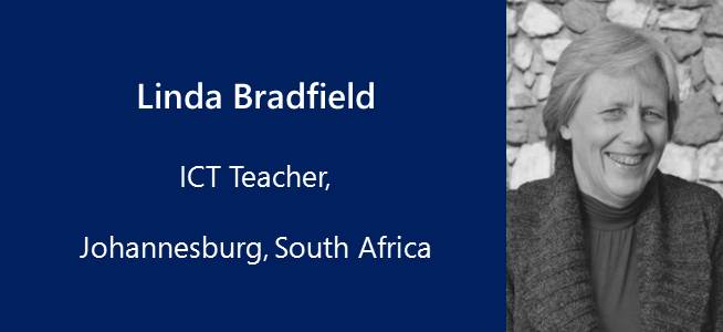 Linda Bradfield, ICT Teacher - South Africa