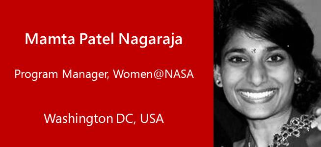 Matma Patel Nagaraja, Program Manager, Women @NASA - USA