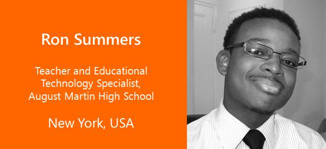 Ron Summers, Teacher and Educational Technology Specialist - USA