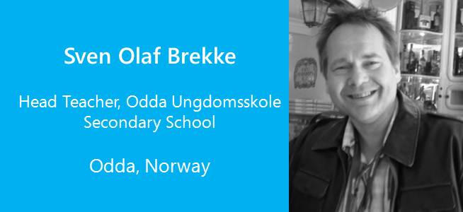 Sven Olaf Brekke, Head Teacher - Norway