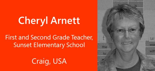 Cheryl Arnett, Teacher - USA
