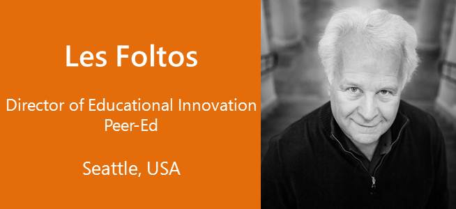 Les Foltos, Director of Educational Innovation, Peer-Ed - USA