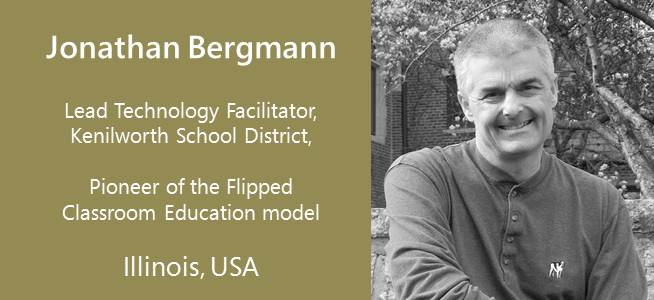Jonathan Bergmann, Pioneer Flipped Class Model - USA