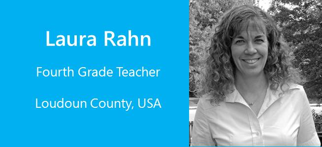 Laura Rahn, Fourth Grade Teacher - USA