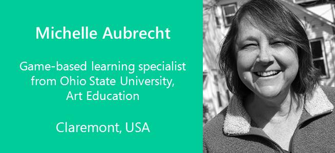 Michelle Aubrecht, Game-based learning specialist - USA