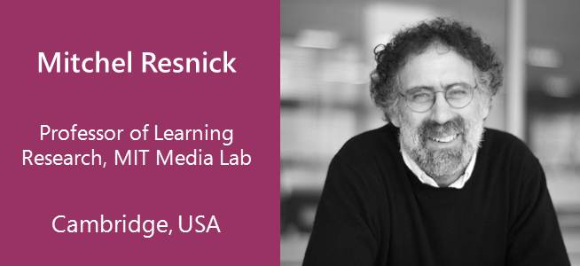 Mitchel Resnick, Professor of Learning Research, MIT Media Lab - USA