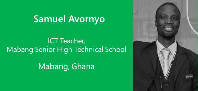 Samuel Avornyo, ICT Teacher - Ghana