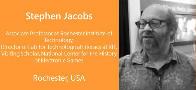 Stephen Jacobs, Associate Professor at Rochester Institute of Technology - USA