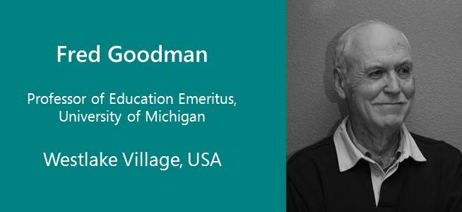 Fred Goodman, Professor of Education Emeritu - USA