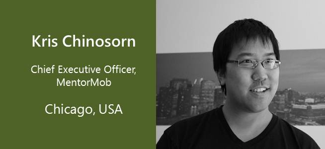 Kris Chinosorn, CEO MentorMob - USA