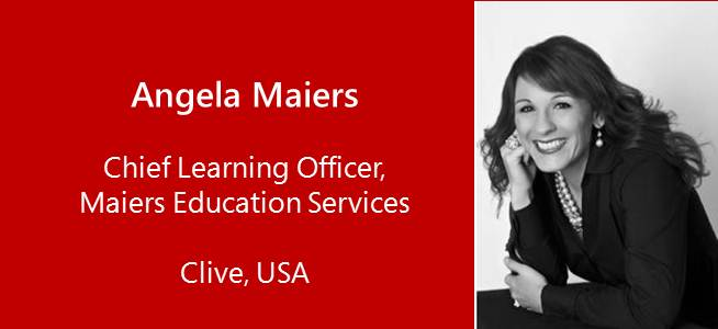 Angela Maiers, Chief Learning Officer, Maiers Education Services - USA