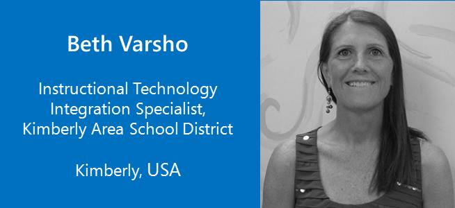 Beth Varsho, Instructional Technology Integration Specialist - USA