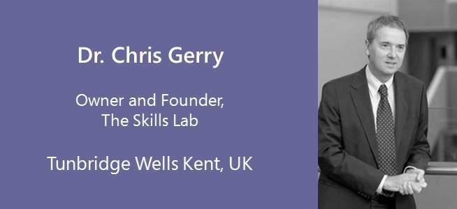 Chris Gerry, Owner and founder of The Skills Lab - UK