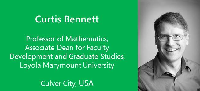 Curtis Bennett, Professor of Mathematics - USA