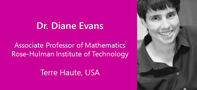 Diane Evans, Associate Professor of Mathematics - USA