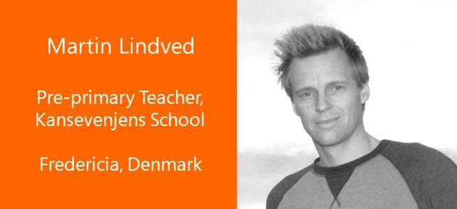 Martin Linded, Pre-primary Teacher - USA