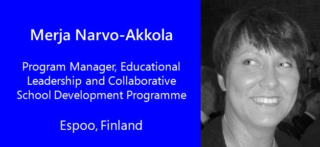 Merja Narvo-Akkola, Program Manager - Finland