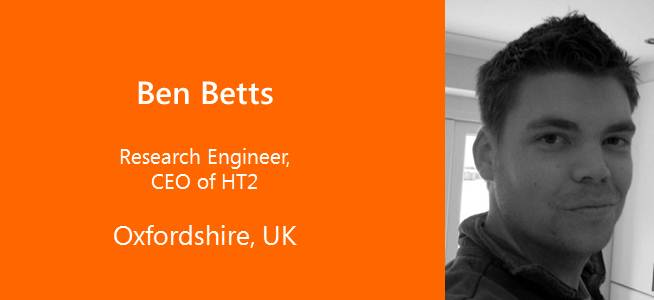 Ben Betts, CEO HT2 - UK