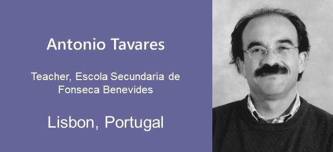 Antonio Tavares, Teacher - Portugal