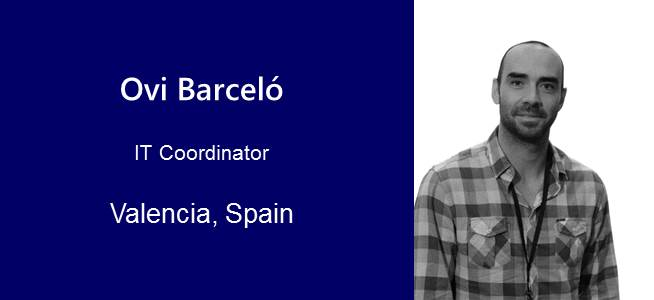 Ovidio Barceló, IT Coordinator - Spain