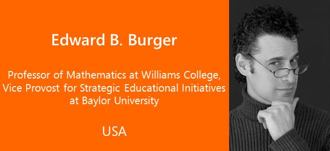 Edward B. Burger - USA