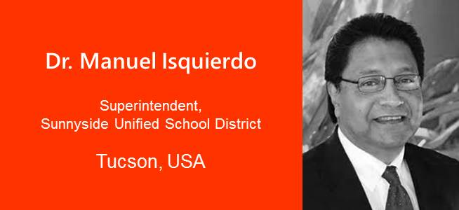 Dr. Manuel Isquierdo, Superintendant - USA