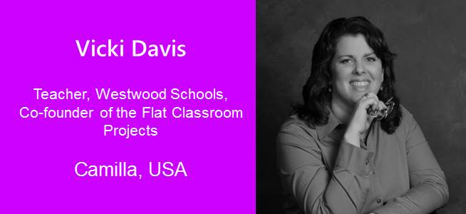 Vicki Davis, Teacher and Co-founder of the Flat Classroom Projects - USA