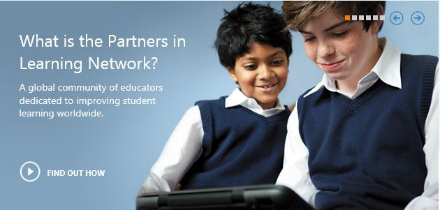 MICROSOFT PARTNERS IN LEARNING NETWORK - IRDA PROGRAME