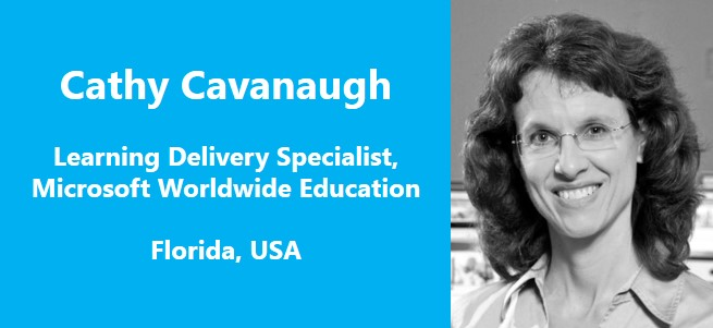 """Effective approaches in mathematics pedagogy are the social and conceptual approaches rather than the knowledge acquisition and content consumption approaches."" – Cathy Cavanaugh, USA"