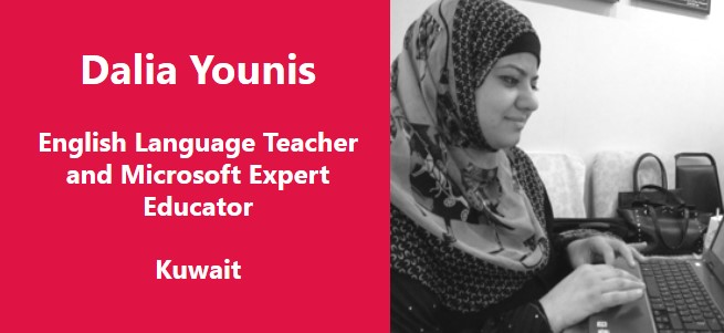 """I teach because I want to make a difference.  I teach because what I do every day matters for at least one person. That's what success is all about."" – Dalia Younis, Kuwait"