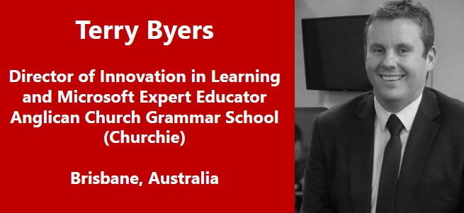 """Teachers, as the gatekeepers of the classroom, are the ones that will enable … digital technology to have a positive effect on teaching, learning, student engagement and ultimately learning outcomes."" – Terry Byers, Australia"