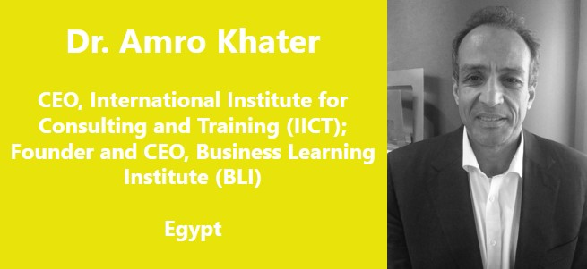 """We need a lot of work to be done, and if it's not us doing this work, and pushing for it, then who else is going to do it?""  – Professor Dr. Amro Khater, Egypt"
