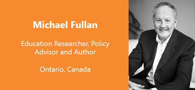 """The problem is that school is incredibly boring for students, and as it turns out, it's pretty boring for teachers as well, because neither group is learning in the traditional school model.""  – Michael Fullan, Canada"