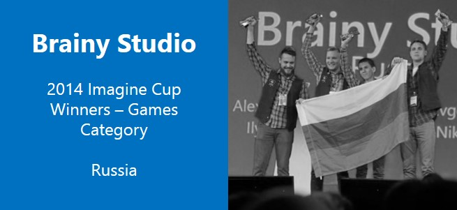 Microsoft Imagine Cup Winner: Brainy Studio, Games Category