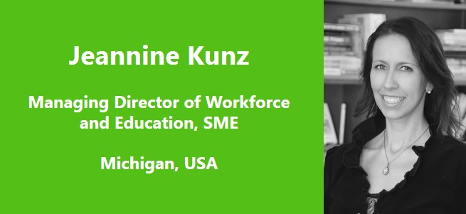 """When it comes to manufacturing, it is critical that schools keep up with changes in technology. As quickly as industry is changing, the education system must respond quickly, too."" – Jeannine Kunz, USA"