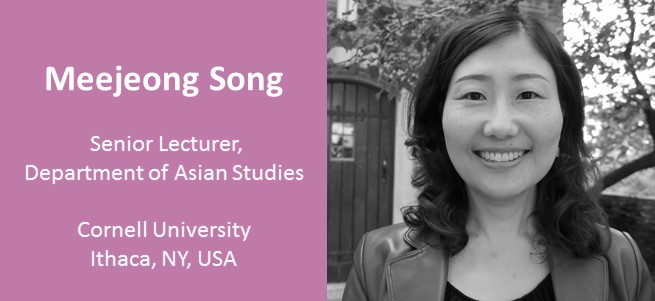 """I think language education can play a critical role in the world, since language leads to better understanding other people: If you know a language, you can better understand the person's true heart."" – Meejeong Song, USA"