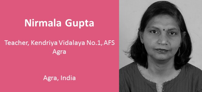 """My greatest hope for the future of education in my country is that we inculcate 21st century skills among our students and transform all classrooms into digital classrooms."" – Nirmala Gupta, India"