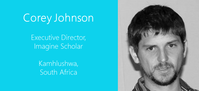corey johnson- south africa