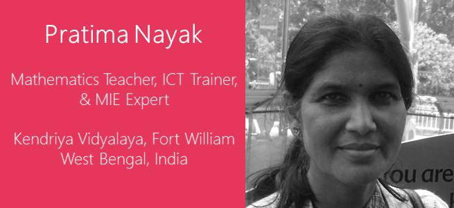 """Education is a basic right, a social imperative, and technology can accelerate insight and impact."" – Pratima Nayak, India"
