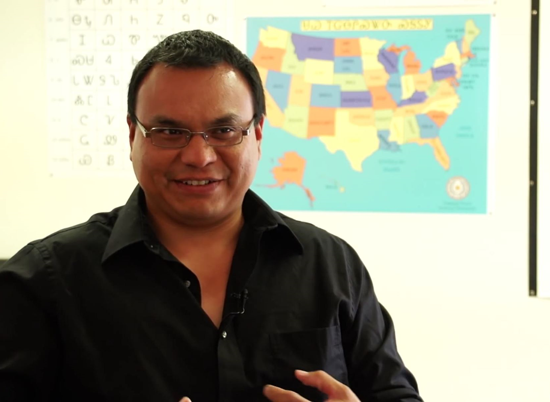 Preserving the Cherokee Language through Engaging Technologies. – Roy Boney, Jr., USA
